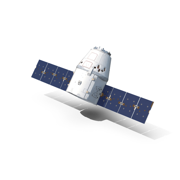 Satellite: Space X Dragon PNG & PSD Images