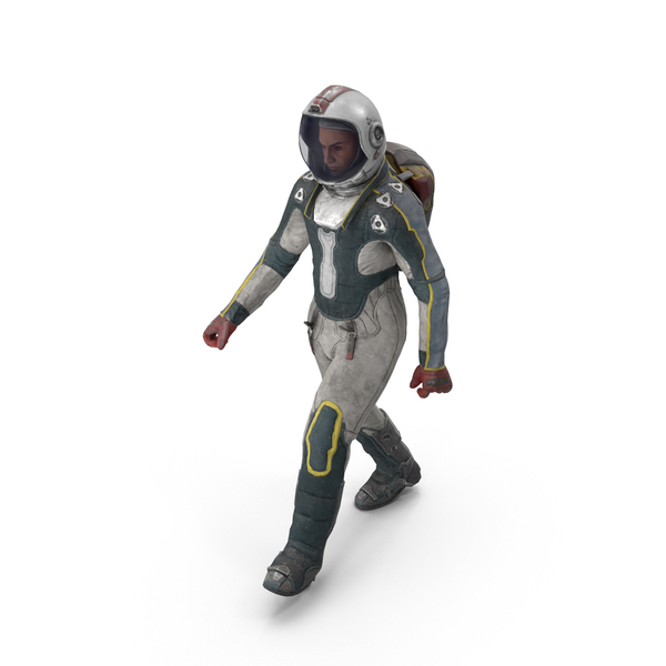 Spaceman Walk PNG & PSD Images