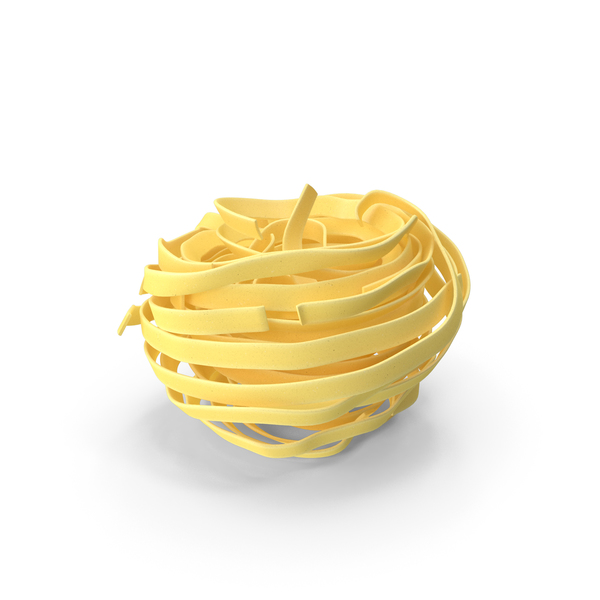Pasta: Spaghetti Nest PNG & PSD Images