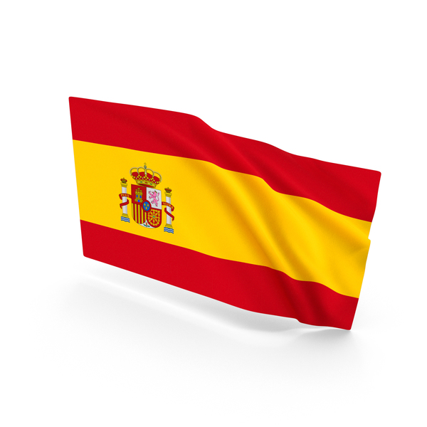 Spanish: Spain Waving Flag PNG & PSD Images