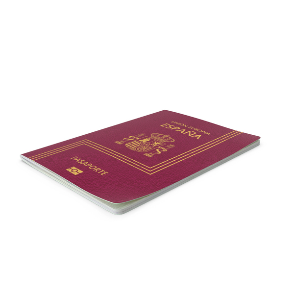 Spanish Passport PNG & PSD Images