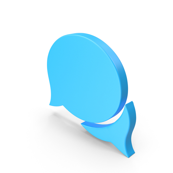 Balloon: Speech Bubble Comments Web Icon PNG & PSD Images