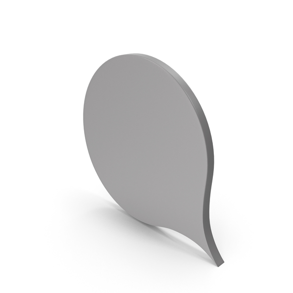 Industrial Equipment: Speech Bubble Grey PNG & PSD Images