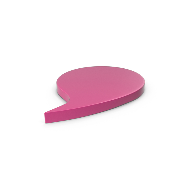 Industrial Equipment: Speech Bubble Pink PNG & PSD Images
