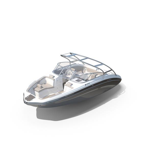 Motorboat: Speedboat Yamaha 242 Limited S PNG & PSD Images