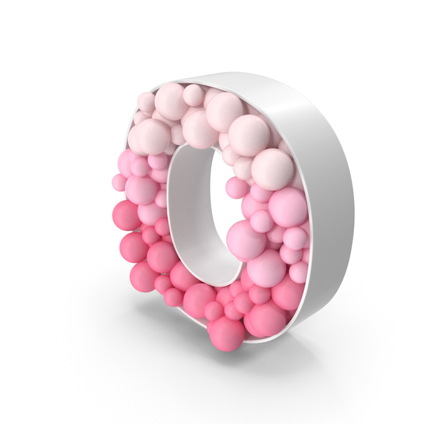 Language: Sphere Letter O PNG & PSD Images