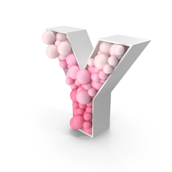 Sphere Letter Y PNG & PSD Images