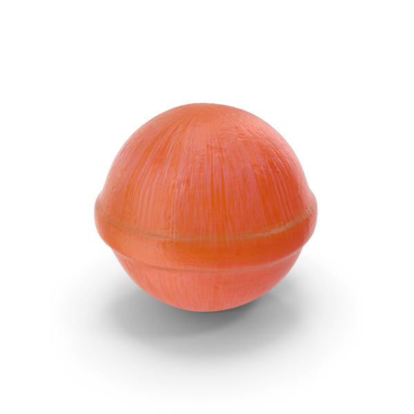 Spherical Hard Candy Orange PNG & PSD Images