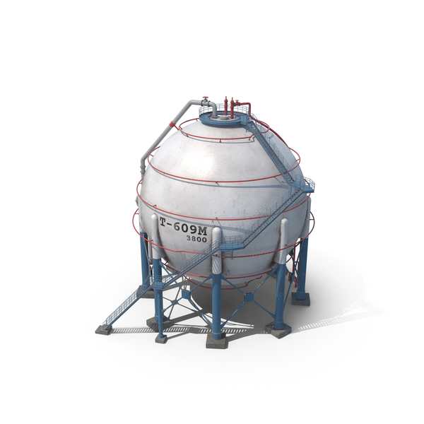 Spherical Oil Tank PNG & PSD Images