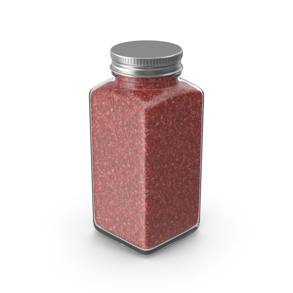 Spice Jar Red No Label PNG & PSD Images