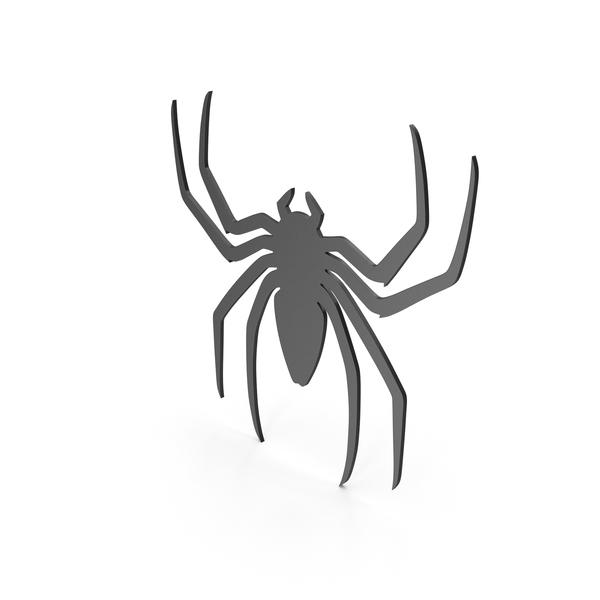 Spider Figure Black PNG & PSD Images