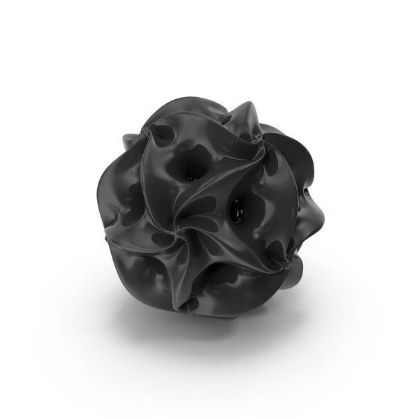 Geometric Shape: Spidron Polyhedral Ball PNG & PSD Images