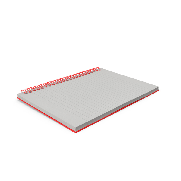 Spiral Notebook PNG & PSD Images