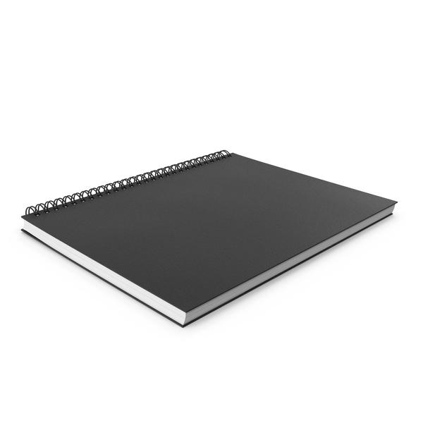 Spiral Sketchbook PNG & PSD Images