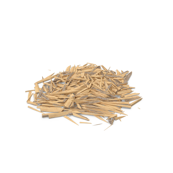 Wooden Debris: Splintered Wood PNG & PSD Images