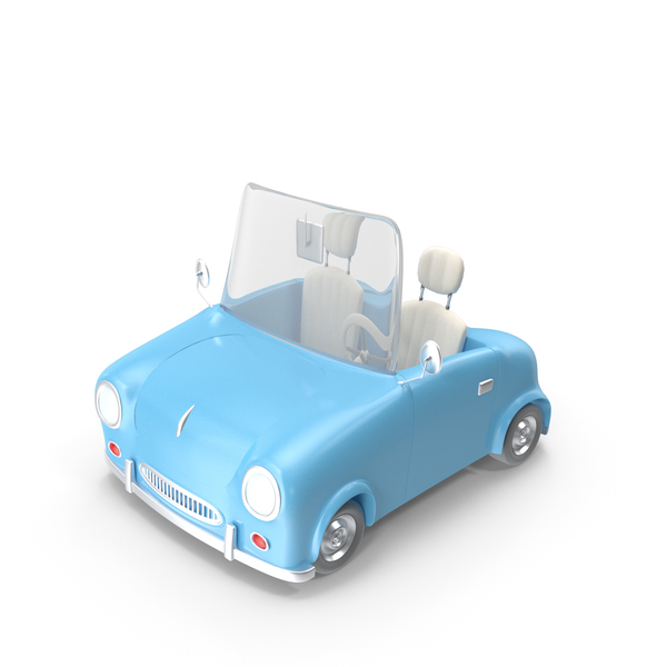 Convertible: Sport Cabriolet Toon Car CMP PNG & PSD Images