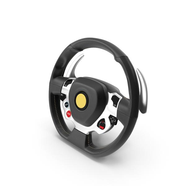 Sport Car Steering Wheel PNG & PSD Images