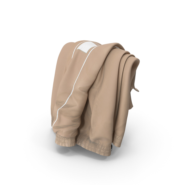 Sport Jacket Draped Beige PNG & PSD Images