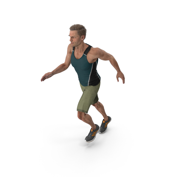 Sport Man Running PNG & PSD Images