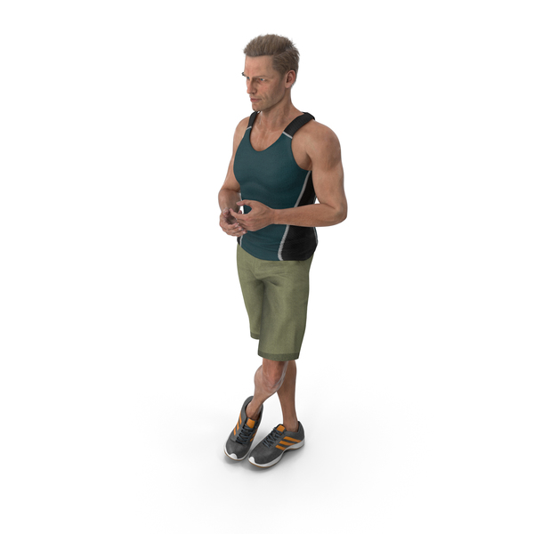 Sport Man Standing PNG & PSD Images