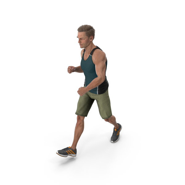 Sport Man Walking PNG & PSD Images
