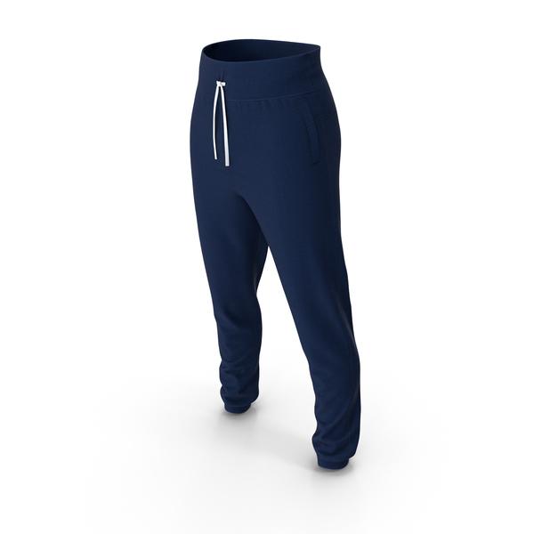 Sweatpants: Sport Pants Blue PNG & PSD Images