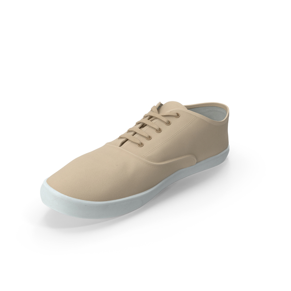 Sport Shoes Beige PNG & PSD Images