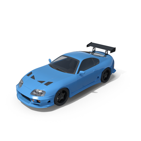 Sports Car Blue PNG & PSD Images