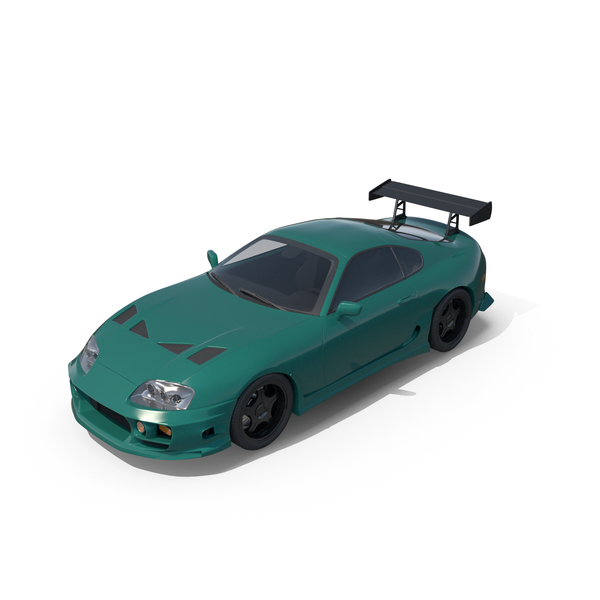 Sports Car Green PNG & PSD Images