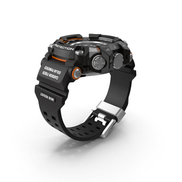 Digital: Sports Watch Shock Resistant Generic PNG & PSD Images
