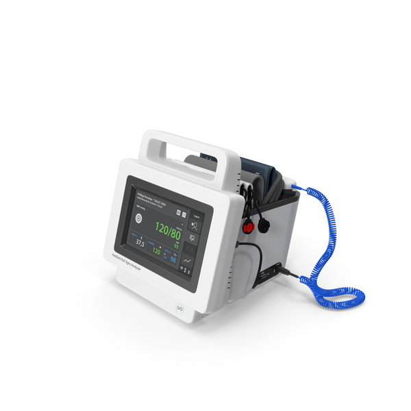 Medical Devices: Spot Check Vital Signs Monitor PNG & PSD Images