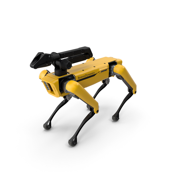 SpotMini Boston Dynamics with Manipulator PNG & PSD Images