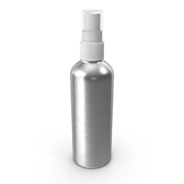 Spray Bottle Aluminum 150 ml PNG & PSD Images
