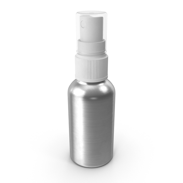 Spray Bottle Aluminum 50 ml PNG & PSD Images