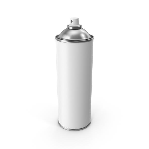 Aerosol: Spray Can No Cap PNG & PSD Images