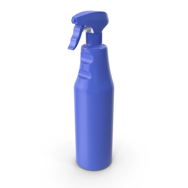 Cleaning Liquid: Spray Detergent Bottle PNG & PSD Images
