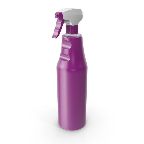 Spray Detergent Bottle PNG & PSD Images