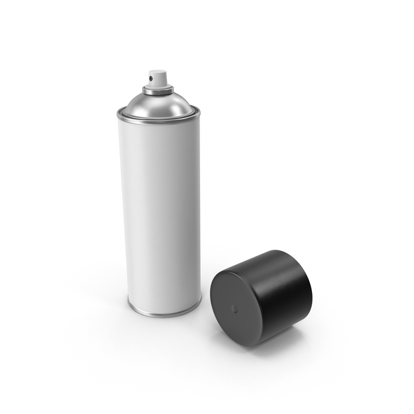 Spray Paint Can Opened PNG & PSD Images