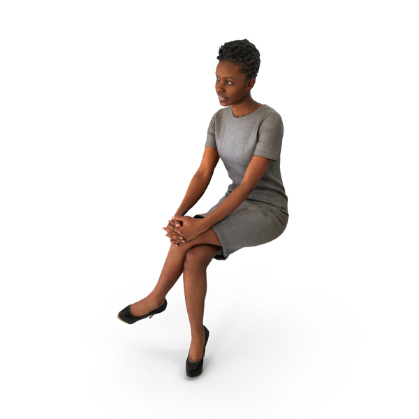 Businesswoman: Spring Business Woman Sitting PNG & PSD Images