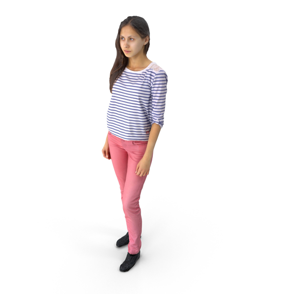 Spring Casual Woman PNG & PSD Images