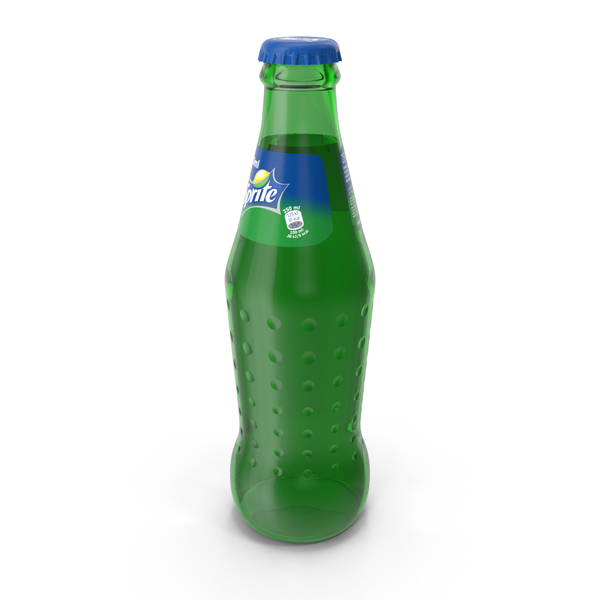 Soda: Sprite Glass Bottle PNG & PSD Images