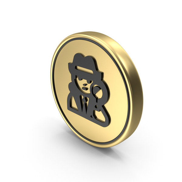 Spy Coin Logo Icon PNG & PSD Images
