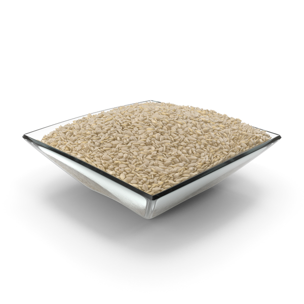 Square Bowl With Sesame Seeds PNG & PSD Images