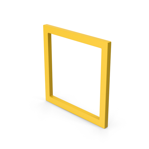 Cube: Square Yellow PNG & PSD Images