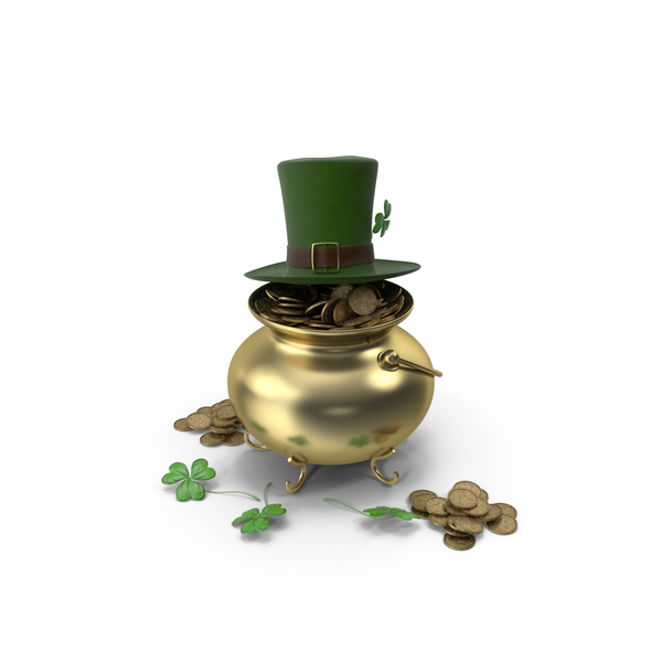 Holiday: St. Patrick's Day Accessories Set PNG & PSD Images