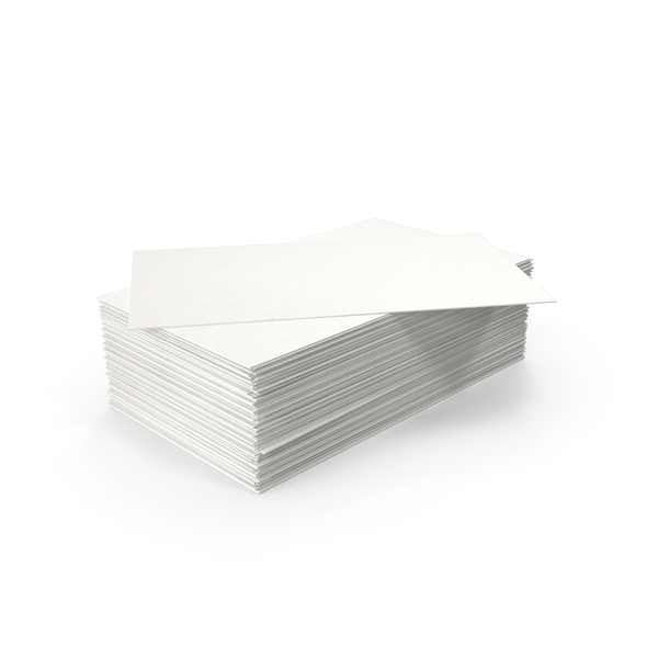 Stack of Business Cards PNG & PSD Images