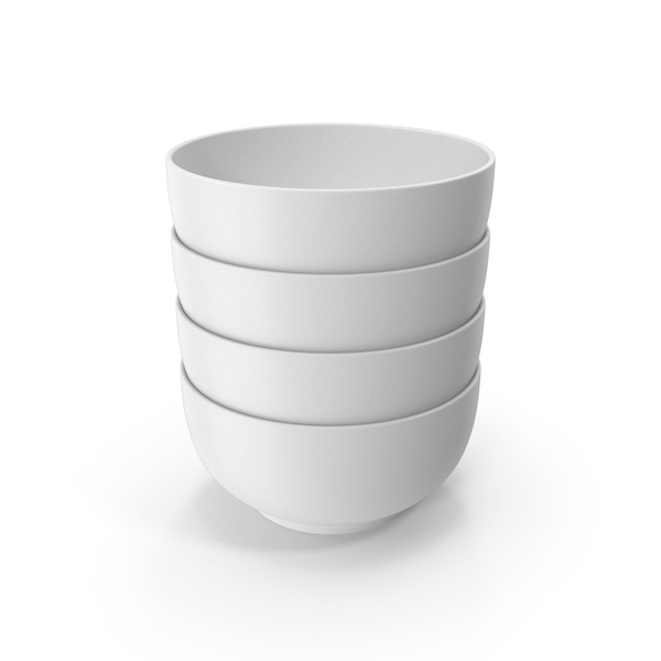 Stack Of Ceramic Bowl PNG & PSD Images