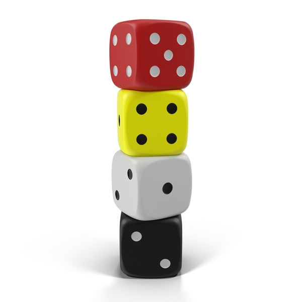 Stack of Dice PNG & PSD Images