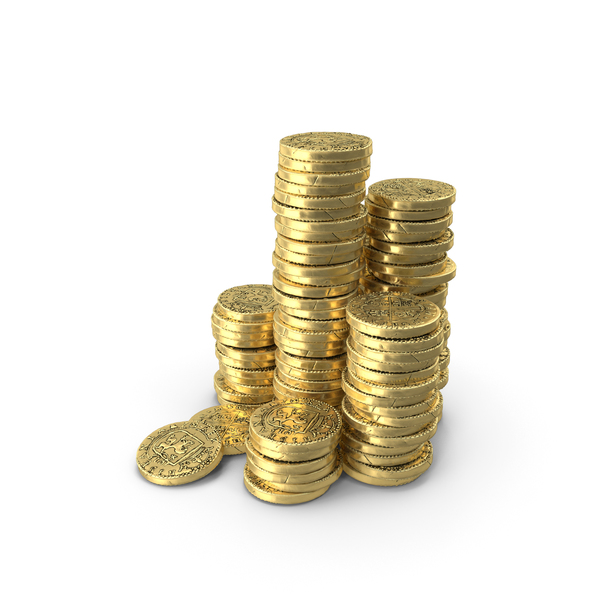 Stack of Gold Coins PNG & PSD Images