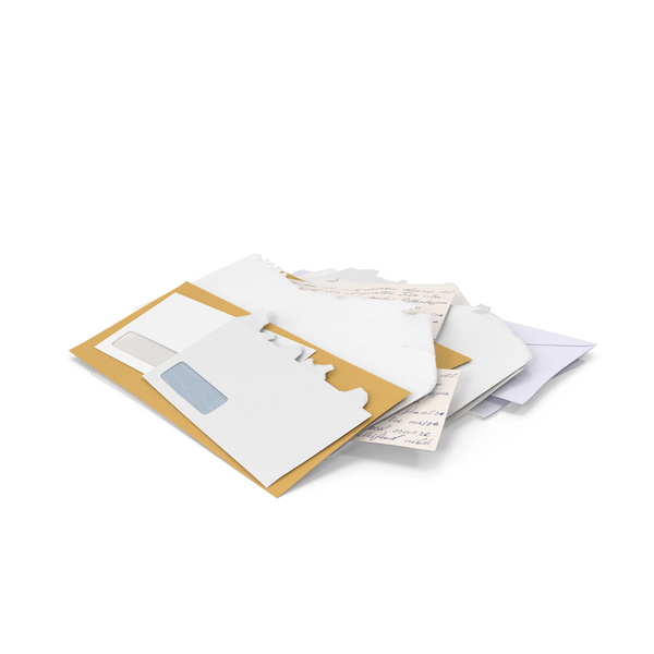 Stack of Mail PNG & PSD Images